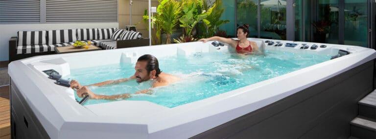 Atv Swim Spa Couple