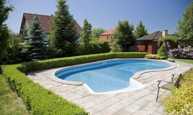 Backyard Vinyl Pool New Jersey