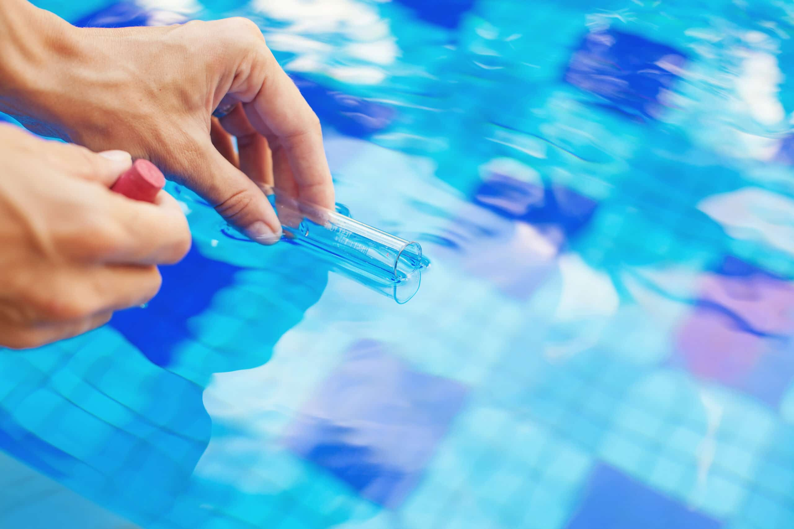 Analyzing Of A Water From Swimming Pool